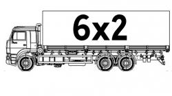 Бортовые 6х2
