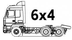 Шасси 6х4