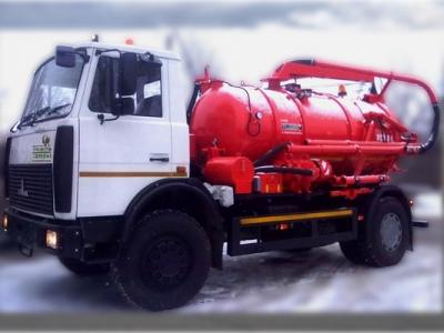 Илососная машина КО-524