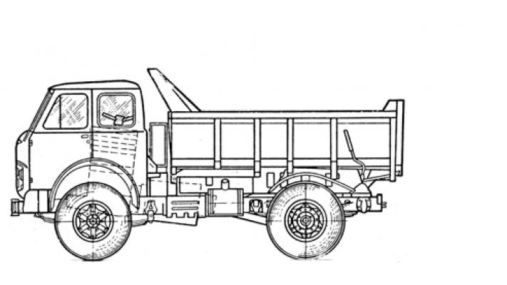 Самосвал МАЗ 4581N2-520-020