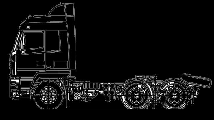 Шасси МАЗ 6312С5-575-012