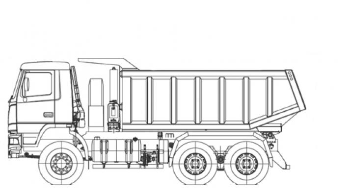 Самосвал МАЗ 6501Е9-584-000