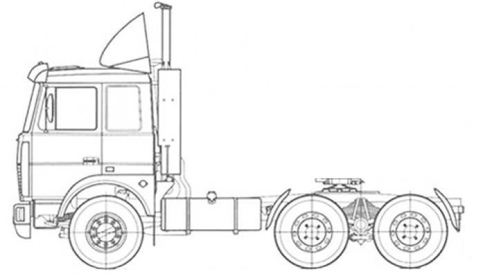 Тягач МАЗ-6430С9-520-010