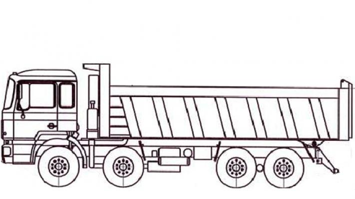 Самосвал МАЗ 6516С9-580-000