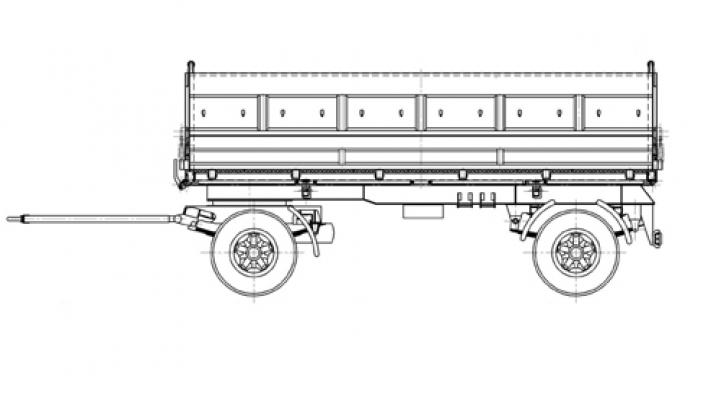 Прицеп МАЗ 856100-024