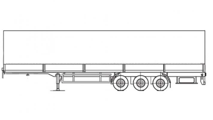 Прицеп МАЗ 975800-3012